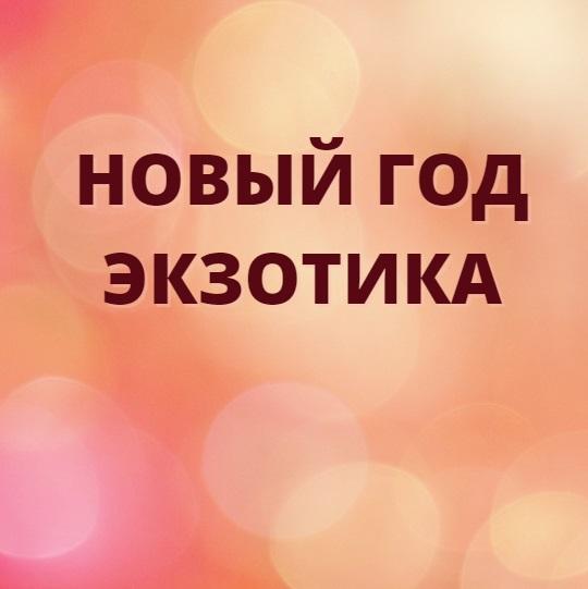ВИТРИНА - НГ ЭКЗОТИКА